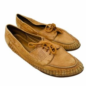 Cobbie Cuddlers Brown Leather Loafers Moccasins